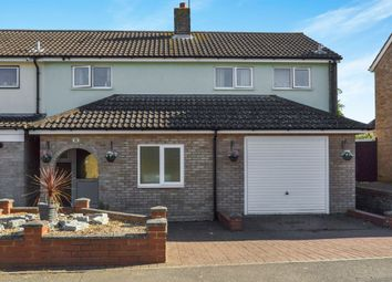 Thumbnail End terrace house for sale in Cherry Road, Newport Pagnell