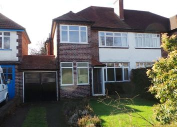 Thumbnail 3 bed semi-detached house for sale in Kineton Road, Sutton Coldfield, West Midlands