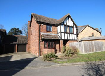 Thumbnail 4 bed detached house to rent in Tamworth Drive, Ancells Farm, Fleet