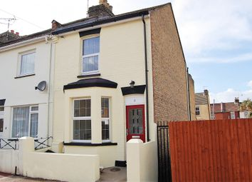 Thumbnail 3 bed end terrace house for sale in Cobden Road, Chatham, Kent