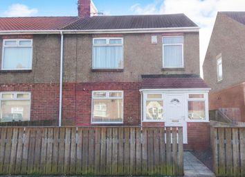 3 bed semi-detached house to rent in Wilson Avenue, East Sleekburn, Bedlington NE22