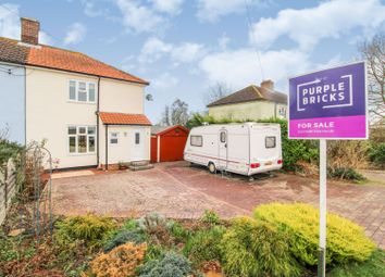 Thumbnail 2 bed semi-detached house for sale in Castlings Heath, Sudbury