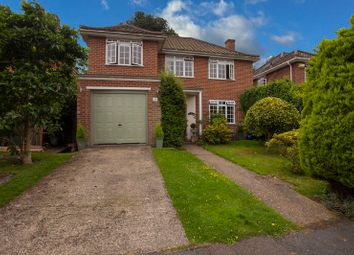 Thumbnail 4 bedroom detached house for sale in Daneswood Close, Weybridge, Surrey