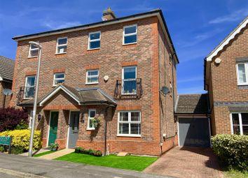 Thumbnail 4 bedroom semi-detached house for sale in Leonardslee Crescent, Newbury