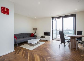 Thumbnail 1 bed flat to rent in Ambassador Building, Embassy Gardens, 5 New Union Square, Nine Elms, London