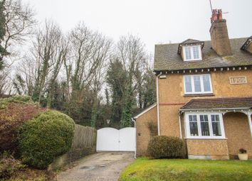 Thumbnail 4 bedroom semi-detached house for sale in Chalkpit Lane, Oxted