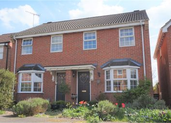 Thumbnail 2 bed semi-detached house for sale in Balmoral Road, Abbots Langley