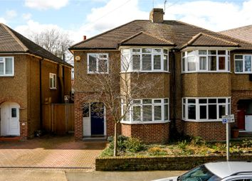 Thumbnail 3 bed semi-detached house for sale in Grove Crescent, Kingston Upon Thames