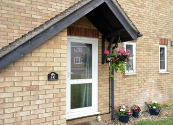 Thumbnail 1 bedroom end terrace house for sale in Flatford Close, Stowmarket