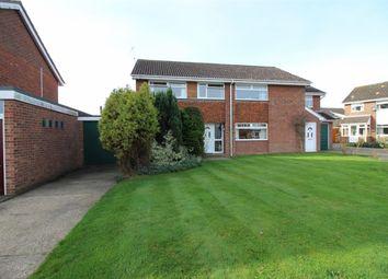 Thumbnail 3 bedroom semi-detached house for sale in Cottinghams Drive, Hellesdon, Norwich