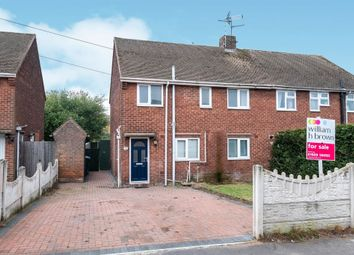 Thumbnail 3 bed semi-detached house for sale in Longfellow Drive, Worksop