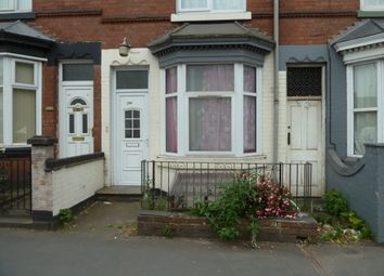Thumbnail 2 bed terraced house to rent in Loughborough Road, Leicester