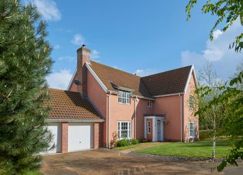 Thumbnail 4 bedroom detached house for sale in Bawburgh Lane, Costessy
