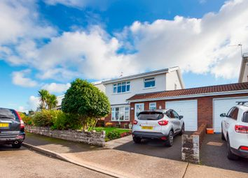 Thumbnail 3 bed detached house for sale in Rushwind Close, West Cross, Swansea