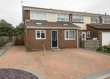 Thumbnail 3 bed semi-detached house to rent in Hareside, Whitelea Grange, Cramlington