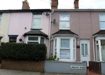 Thumbnail 3 bedroom end terrace house to rent in Lawson Road, Lowestoft