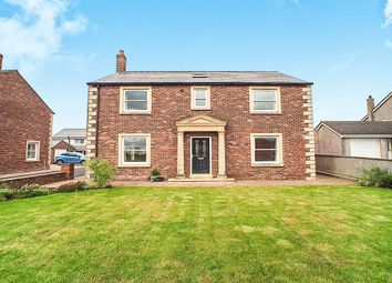 Thumbnail 4 bed detached house for sale in Newton Arlosh, Wigton