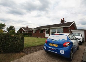 Thumbnail 3 bed detached bungalow to rent in Hanberie, Barbers Lane, Antrobus, Northwich, Cheshire