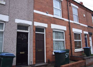 Thumbnail 2 bedroom terraced house to rent in Poplar Road, Earlsdon, Coventry, West Midlands