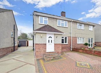 Thumbnail 4 bed semi-detached house for sale in Wood Close, Bexley, Kent
