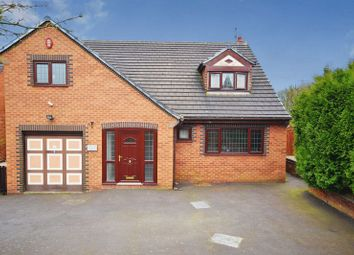 Thumbnail 4 bed detached house for sale in Werrington Road, Bucknall, Stoke-On-Trent