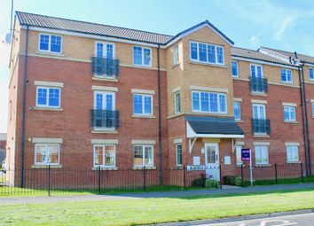 Thumbnail 2 bed flat for sale in Merlin Way, Hartlepool