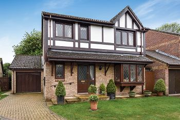 Thumbnail 4 bed detached house for sale in Canons Close, Warminster