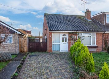 Thumbnail 2 bed semi-detached bungalow for sale in Connaught Road, Aylesbury