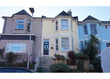 Thumbnail 3 bed town house for sale in St. Georges Terrace, Plymouth