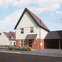 Thumbnail 3 bed semi-detached house for sale in Middy Close, Mendlesham