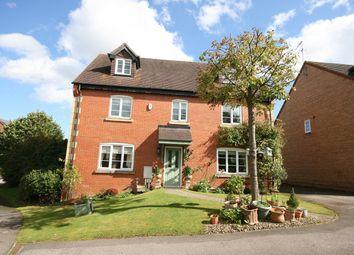 Thumbnail 6 bed detached house for sale in Rickyard Walk, Grange Park, Northampton