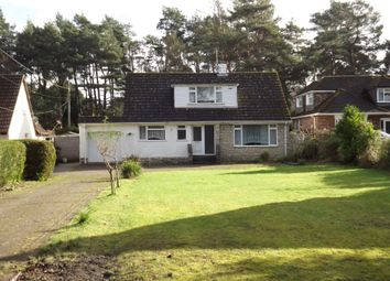 Thumbnail 4 bedroom detached house for sale in New Road, West Parley, Ferndown