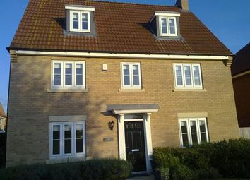 Thumbnail 5 bed detached house to rent in Montague Way, Chellaston, Derby
