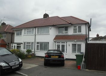 Thumbnail 5 bed semi-detached house to rent in Warwick Avenue, Harrow, Middlesex