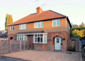 Thumbnail 3 bed semi-detached house for sale in Connaught Road, Brookwood, Woking