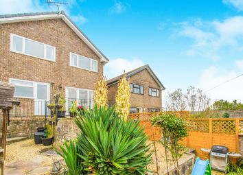 Thumbnail 4 bed semi-detached house for sale in Greenacre Drive, Bedwas, Caerphilly