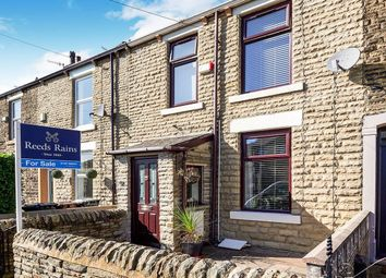 Thumbnail 3 bed terraced house for sale in South Marlow Street, Hadfield, Glossop