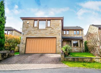 Thumbnail 5 bed detached house for sale in Carr View Road, Hepworth, Holmfirth