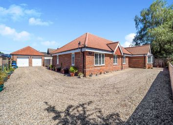 Thumbnail 4 bed detached bungalow for sale in Common Lane, Great Witchingham, Norwich