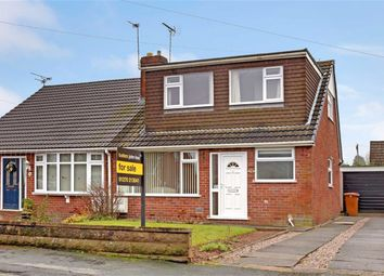 Thumbnail 3 bed semi-detached bungalow for sale in Bradeley Road, Haslington, Crewe