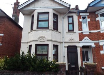 Thumbnail 3 bed property to rent in Devonshire Road, Southampton