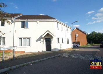 Thumbnail 3 bed semi-detached house for sale in Rush Drive, Waltham Abbey