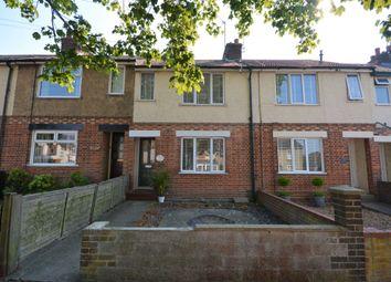 2 bed terraced house for sale in Walmer Road, Pakefield, Lowestoft NR33