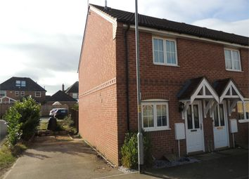 Thumbnail 2 bedroom end terrace house for sale in Rosemary Way, Downham Market