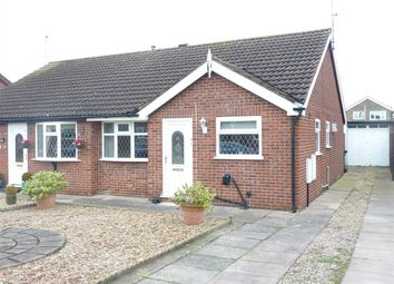 Thumbnail 2 bed semi-detached bungalow to rent in Raithby Avenue, Keelby, Grimsby