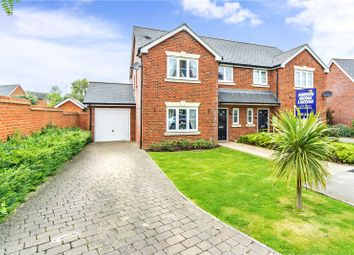 Thumbnail 4 bed semi-detached house for sale in Archbishops Crescent, Gillingham, Kent