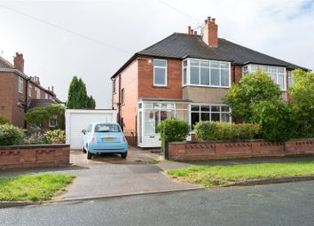 Thumbnail 3 bed semi-detached house for sale in Moor Grange Drive, Leeds