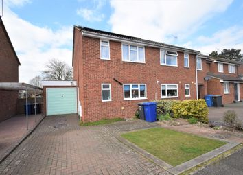 Thumbnail 3 bed semi-detached house for sale in Raynham Road, Bury St. Edmunds