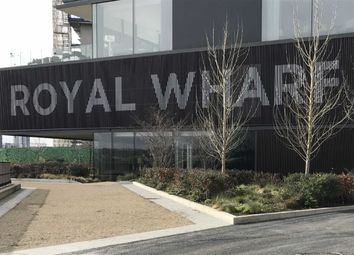 Thumbnail 3 bed flat for sale in Latitude Building, Royal Wharf, Royal Docks, London