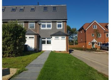 Thumbnail 4 bed end terrace house for sale in Slade Court, Otterhshaw